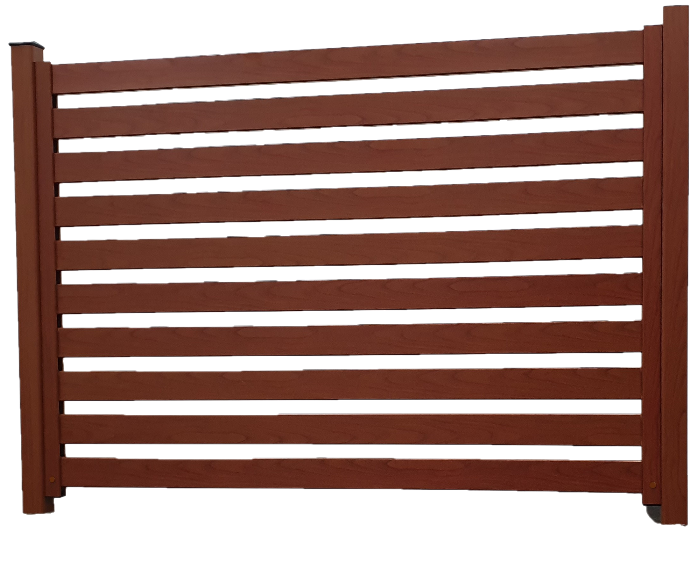 See Various Fence Looks/Finishes