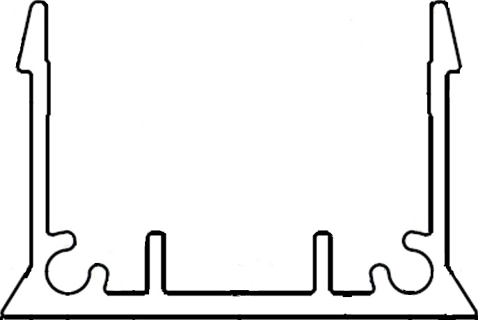 Hidden Batten Clip Image